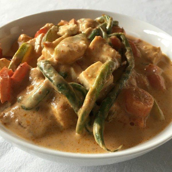 Vegetable Panang